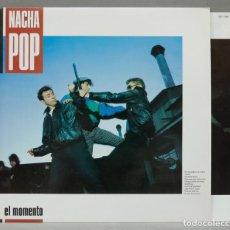 Discos de vinilo: LP. NACHA POP. EL MOMENTO. Lote 288656608