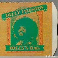Discos de vinilo: LP. BILLY PRESTON. BILLY'S BAG. Lote 288657463
