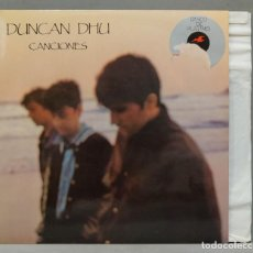 Discos de vinilo: LP. DUNCAN DHU. CANCIONES. Lote 288658068