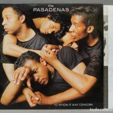 Discos de vinilo: LP. THE PASADENAS. TO WHOM IT MAY CONCERN. Lote 288658273