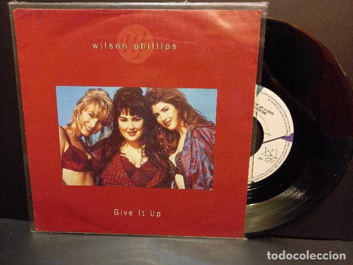 WILSON PHILIPS GIVE IT UP SINGLE GERMANY 1992 PDELUXE (Música - Discos - Singles Vinilo - Pop - Rock Internacional de los 90 a la actualidad)