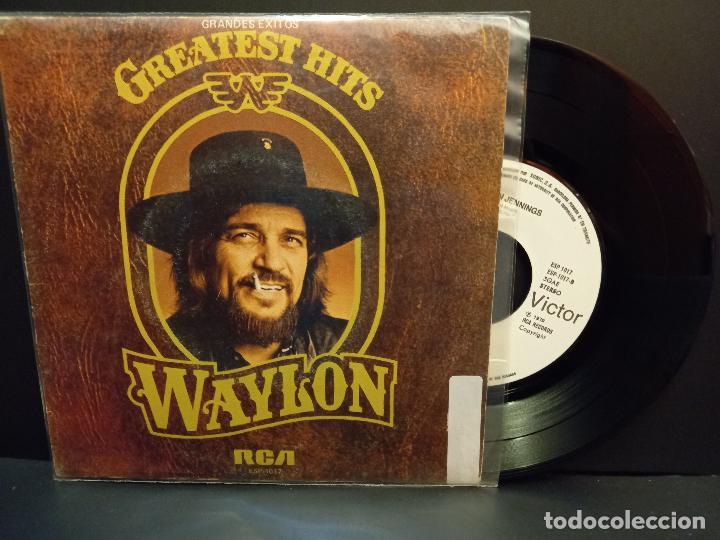 WAYLON JENNINGS I'M A RAMBLIN MAN + 3 EP SPAIN 1980 PDELUXE (Música - Discos de Vinilo - EPs - Country y Folk)