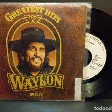 Discos de vinilo: WAYLON JENNINGS I'M A RAMBLIN MAN + 3 EP SPAIN 1980 PDELUXE. Lote 288662773
