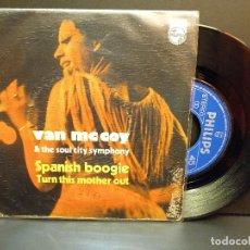 Discos de vinilo: VAN MCCOY SPANIS BOOGIE SINGLE SPAIN 1976 PDELUXE. Lote 288662903