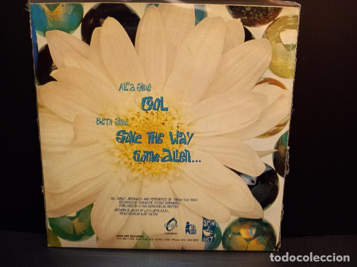 Discos de vinilo: THROW THAT BEAT COOL + 2 SINGLE USA 1992 PDELUXE - Foto 2 - 288663283