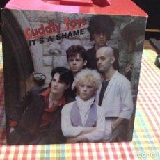 "Discos de vinilo: CUDLY TOYS - IT'S A SHAME / SINGLE 7"" 1982 SPAIN. NM / NM ( ROCK, NEW WAVE, ELECTRONIC). Lote 288663673"