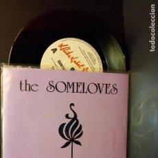 Discos de vinilo: THE SOMELOVES SUNSHINES CLOVE SINGLE AUSTRALIA 1990 PDELUXE. Lote 288664613