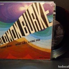 Discos de vinilo: SOLOMON BURKE PROUD MARY SINGLE SPAIN 1969 PDELUXE. Lote 288664833
