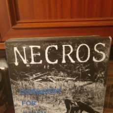 Discos de vinilo: NECROS / CONQUEST FOR DEATH / NOT ON LABEL. Lote 288665243