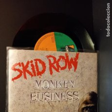 Discos de vinilo: SKID ROW MONKEY BUSINESS SINGLE GERMANY 1991 PDELUXE. Lote 288667333