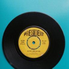 Disques de vinyle: ALVIN CASH & THE REGISTERS - ALVIN'S BOOGALOO-LET'S DO SOMETHING GOOD. Lote 288668643