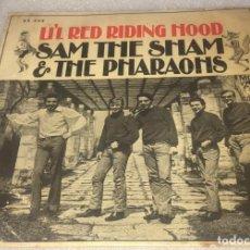 Disques de vinyle: EP SAM THE SHAM Y LOS FARAONES - LIL' RED RIDING HOOD - MGM 63.532 -PEDIDO MINIMO 7€. Lote 288671353