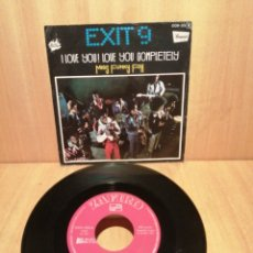 Discos de vinilo: EXIT 9. I LOVE YOU LOVE YOU COMPLETELY. MISS FUNKY FOX. AÑO 1976.. Lote 288673253