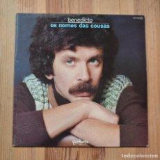 Discos de vinilo: BENEDICTO OS NOMES DAS COUSAS 1979 VINILO LP GUIMBARDA MUSICA CELTA GALEGA. Lote 288674068