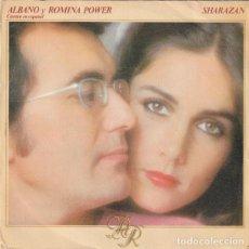 Discos de vinilo: AL BANO Y ROMINA POWER, SHARAZAN SINGLE EN ESPAÑOL. Lote 288674438