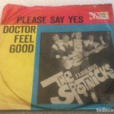 Discos de vinilo: SINGLE THE SPOTNICKS - PLEASE SAY YES - DOCTOR FEEL GOOD - SWEDISC SWES1048 -PEDIDO MINIMO 7€. Lote 288675583