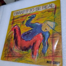 Discos de vinilo: JOHN ROCCA - I WANT IT TO BE REAL. Lote 288675933