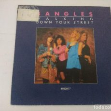 Discos de vinilo: BANGLES/WALKING DOWN YOUR STREET/SINGLE PROMOCIONAL.. Lote 288678198
