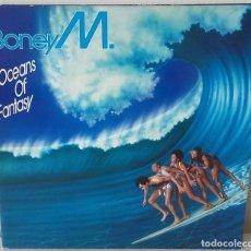 Discos de vinilo: BONEY M - OCEANS OF FANTASY HANSA EDIC. ALEMANA - 1979 GAT. Lote 288679003