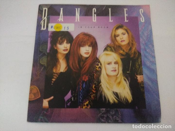 BANGLES/IN YOUR ROOM/SINGLE PROMOCIONAL. (Música - Discos de Vinilo - Singles - Pop - Rock Internacional de los 80)