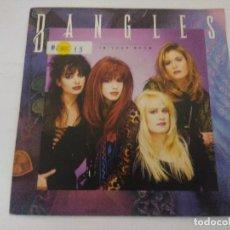 Discos de vinilo: BANGLES/IN YOUR ROOM/SINGLE PROMOCIONAL.. Lote 288679063