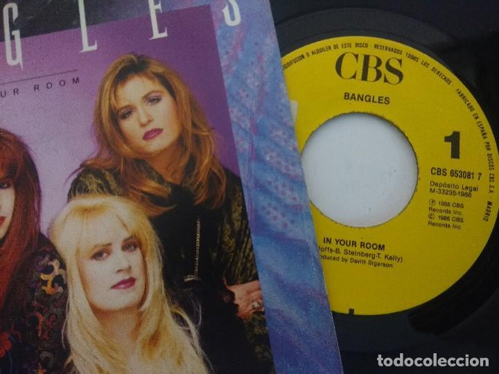 Discos de vinilo: BANGLES/IN YOUR ROOM/SINGLE PROMOCIONAL. - Foto 2 - 288679063