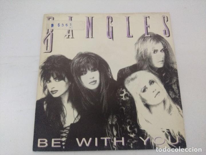 BANGLES/BE WITH YOU/SINGLE PROMOCIONAL. (Música - Discos de Vinilo - Singles - Pop - Rock Internacional de los 80)