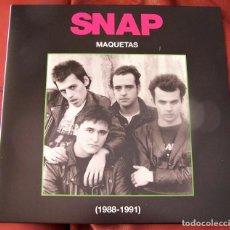 Discos de vinilo: SNAP - MAQUETAS (1988 - 1991) LP. Lote 288681233