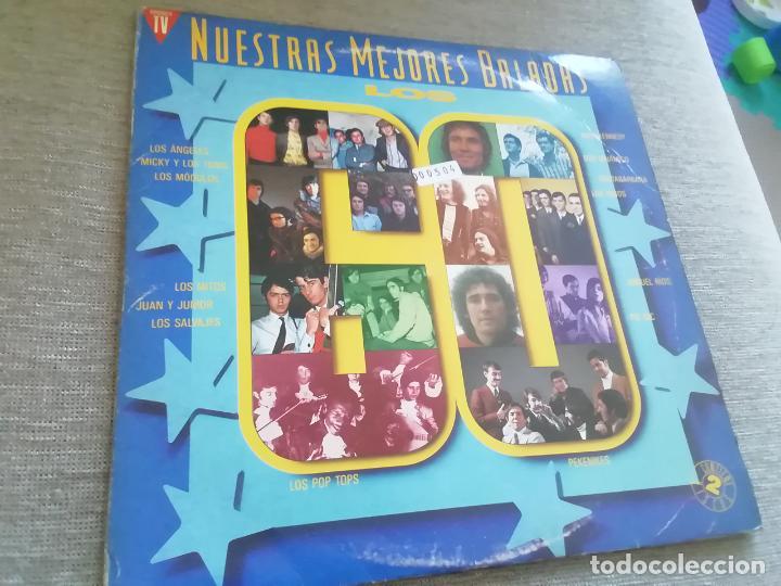 NUESTRAS MEJORES BALADAS-LOS 60.2 LP (Música - Discos - LP Vinilo - Grupos Españoles 50 y 60)
