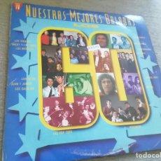 Discos de vinilo: NUESTRAS MEJORES BALADAS-LOS 60.2 LP. Lote 288681763