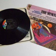 Discos de vinilo: THE VENTURES / FLIGHTS OF FANTASY 1968 - KILLER GUITARS.. 1º PRESS, ORIG EDIT USA - TODO EX !!!. Lote 208363312