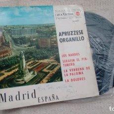 Discos de vinilo: E.P. (VINILO) DE ANTONIO APPRUZZESE (ORGANILLO) AÑOS 60. Lote 288682298
