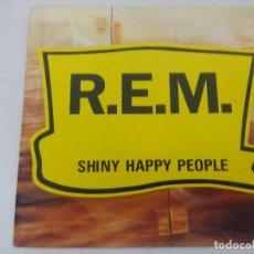 Discos de vinilo: REM/SHINY HAPPY PEOPLE/SINGLE PROMOCIONAL.. Lote 288682488