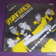 Discos de vinilo: TEQUILA - VIVA TEQUILA! - MAXI SINGLE ZAFIRO 1980 PRECINTADO - ROCK N ROLL 80'S - VINILO AZUL. Lote 288683728