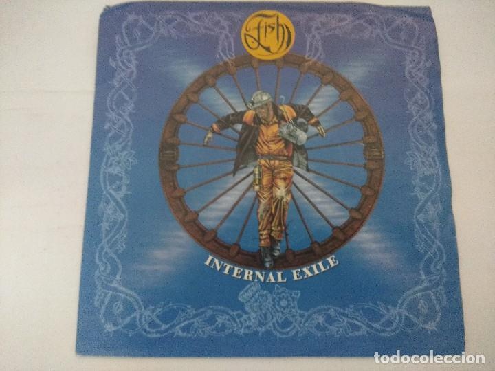 FISH/INTERNAL EXILE/SINGLE. (Música - Discos de Vinilo - Singles - Pop - Rock Internacional de los 80)