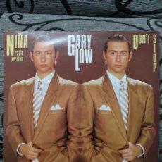 Discos de vinilo: GARY LOW - NIÑA. Lote 288684093