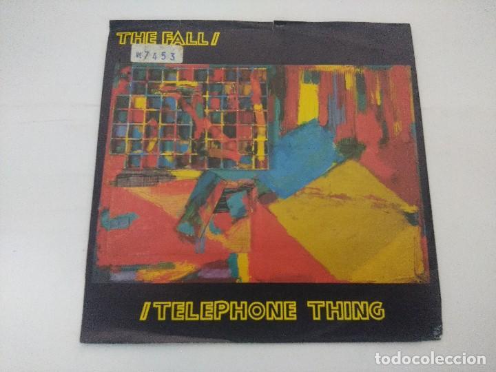 THE FALL/TELEPHONE THING/SINGLE. (Música - Discos de Vinilo - Singles - Pop - Rock Internacional de los 80)