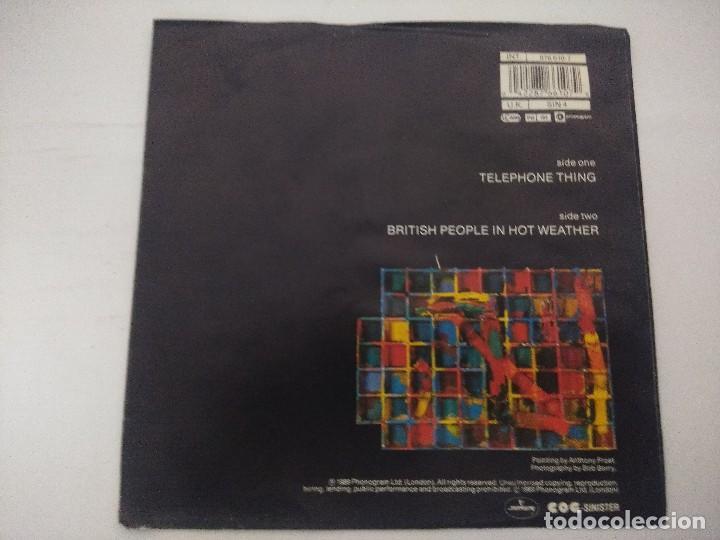 Discos de vinilo: THE FALL/TELEPHONE THING/SINGLE. - Foto 3 - 288684953