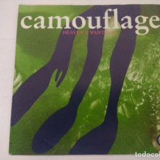 Discos de vinilo: CAMOUFLAGE/HEAVEN I WANT YOU/SINGLE.. Lote 288685483