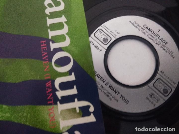 Discos de vinilo: CAMOUFLAGE/HEAVEN I WANT YOU/SINGLE. - Foto 2 - 288685483