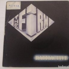 Discos de vinilo: THE FIRM/RADIOACTIVE-JIMMY PAGE/SINGLE.. Lote 288686933
