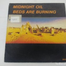 Discos de vinilo: MIDNIGHT OIL/BEDS ARE BURNING/SINGLE PROMOCIONAL.. Lote 288687333
