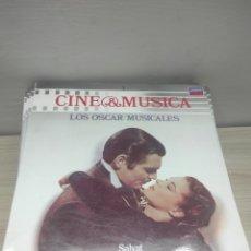 Discos de vinilo: 55 LPS DE LA COLECCIÓN CINE & MÚSICA DE LA EDITORIAL SALVAT. Lote 288687393
