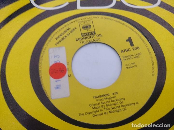 Discos de vinilo: MIDNIGHT OIL/TRUGANINI/SINGLE PROMOCIONAL. - Foto 2 - 288689398