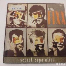 Discos de vinilo: THE FIXX/SECRET SEPARATION/SINGLE PROMOCIONAL.. Lote 288689733