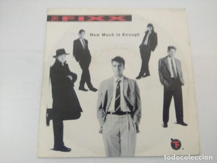 THE FIXX/HOW MUCH IS ENOUGH/SINGLE. (Música - Discos de Vinilo - Singles - Pop - Rock Internacional de los 80)
