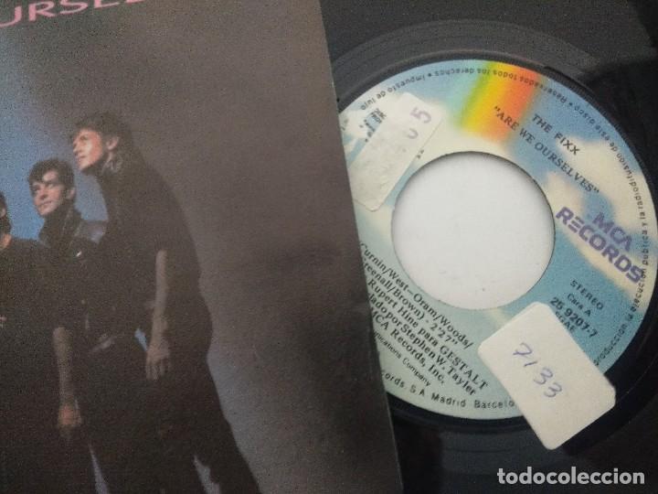 Discos de vinilo: THE FIXX/ARE WE OURSELVES/SINGLE PROMOCIONAL. - Foto 2 - 288690578