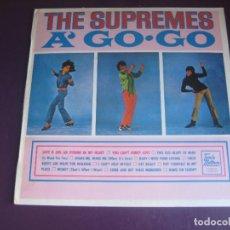 Discos de vinilo: THE SUPREMES – A' GO-GO - LP RCA EDICION DE 1982 - SIN ESTRENAR - SOUL POP 60'S. Lote 288691318