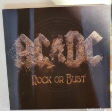 Discos de vinilo: AC/DC - ROCK OR BUST - VINILO CON LIBRO. PORTADA LENTICULAR GATEFOLD. Lote 288692488