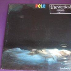 Discos de vinilo: PELE – FIREWORKS - LP POLYDOR 1992 - INDIE POP 90'S - LEVE USO. Lote 288695158